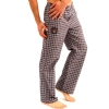 Ed Hardy Men's Love Kills Woven Sleep Pants - Navy/Red