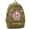 Ed Hardy Bruce Swords  Backpack - Brown