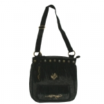 Ed Hardy Felicia N/S Zip Top Tote Bag - Black