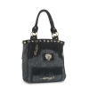 Ed Hardy Finly Zip Top Tote Bag - Black