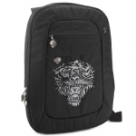 Ed Hardy Cesar Tiger Laptop Backpack - Black