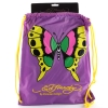 Ed Hardy Drew  Drawstring Butterfly  Bag - Purple