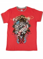Ed Hardy Kids Boys T-Shirt - Red