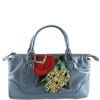 Ed Hardy Lucy Rose Small Tote- Blue