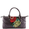 Ed Hardy Lucy Rose Small Tote- Purple