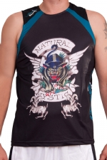 Ed Hardy Mens Mystic Panther Sport Tank Top - Black