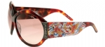Ed Hardy EHS-002 Koi Fish Sunglasses - Tortoise/Brown