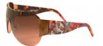Ed Hardy EHS-003 Japan Sunglasses - Cocoa/Brown
