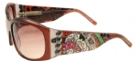 Ed Hardy EHS-006 Love Dog Sunglasses - Cocoa/Brown