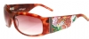 Ed Hardy EHS-007 Alive Aware Sunglasses - Tortoise/Brown