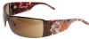 Ed Hardy EHS-009 Tiger Running Sunglasses - Tortoise/Brown