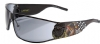 Ed Hardy EHS-018 LA Dog Sunglasses - Black/Gray
