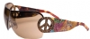 Ed Hardy EHS-027 Pin UP2 Graphics Sunglasses - Tortoise/Brown