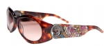 Ed Hardy EHS-032 King Sunglasses - Tortoise/Brown