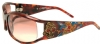 Ed Hardy EHS-035 Death or Glory 2 Sunglasses - Tortoise/Brown