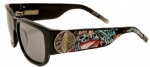 Ed Hardy EHS-040 Surf or Die Sunglasses - Black