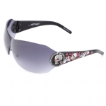 Ed Hardy EHS-042 Catcher Sunglasses - Black