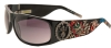 Ed Hardy EHS-044 Live to Ride Sunglasses - Black