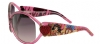Ed Hardy EHS-048 Pinup Devil Sunglasses - Pink Saphire