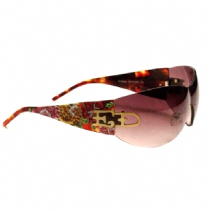 Ed Hardy EHS052 Sunglasses - Tortoise - The Ed Hardy�EHS052 Sunglasses is a beautiful fashionable sunglasses designed by Ed Hardy and marketed by Christian Audigier. The�Ed Hardy designer sunglasses features� SWAROVSKI CRYSTALS.