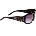 Ed Hardy EHS053 Sunglasses - Black