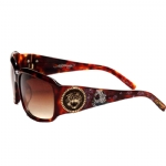 Ed Hardy EHS053 Sunglasses - Brown
