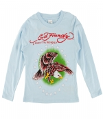 Ed Hardy Toddlers Eagle T-Shirt - Light Blue