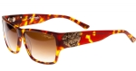 Ed Hardy EHS Tiger Mouth Men's Sunglasses - Matte Tortoise