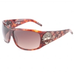 Ed Hardy EHT-910 Sunglasses - Copper