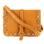 Big Buddha Eleanor Crossbody Bag-Mustard