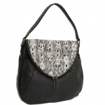 BCBG Generation Erin Hobo Bag- Black Combo