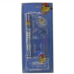 Ed Hardy Emma Pencil Set For Boys - Blue