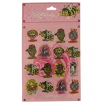 Ed Hardy Jade Stickers For Girls - Pink