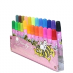 Ed Hardy Bee Color Marker Set For Girls - Pink