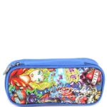 Ed Hardy Tyler All Over Large Pencil Case - Blue