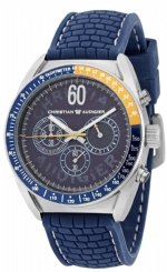 Christian Audigier ETE-123 Racer Chrono Watch - Blue