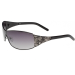Ed Hardy EHT-908 Sunglasses - Black