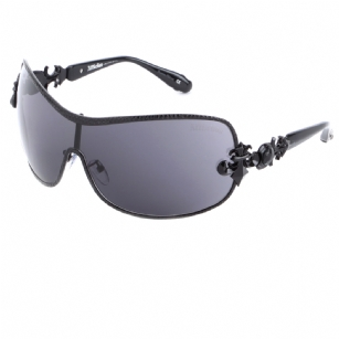 Affliction FIONA Sunglasses - Black - This Affliction FIONA Sunglasses delivers unsurpassed craftsmanship with impeccable design aesthetics. Known for their intricate style and art, Affliction Logo Details, Plastic and matel frame. Includes: Each item comes with original case, cloth and certificate of authenticity.We are authorized resellers of  Affliction products. Authenticity is 100% Guaranteed.