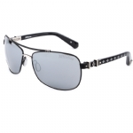 Affliction Goliath Sunglasses - Black/Ant. Pewter