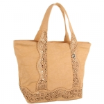 Big Buddha Harbor Tote - Tan