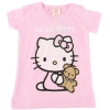 Hello Kitty Short Sleeve T- Shirt-Pink