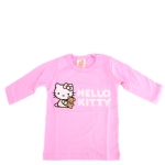Hello Kitty Long Sleeve T-Shirt-Pink