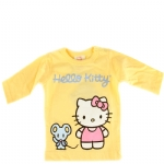 Hello Kitty Long Sleeve T-Shirt-Lemon