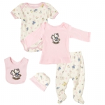 Hello Kitty Baby Girls Horse  Hello Kitty 5 Piece Set-Pink
