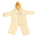Hello Kitty Baby Hoodie and Pants Set-Cream
