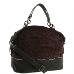 BCBG Generation Hazel Large Satchel- Cheetah