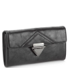 BCBG Generation Milla Checkbook Wallet - Black