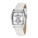Christian Audigier Intensity Bird Cage White Watch - White