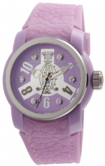 Christian Audigier Intensity  Vortex Watch - Lavender