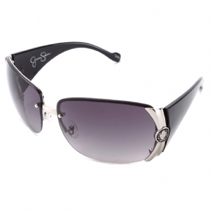Jessica Simpson J454 Designer Sunglasses - Silver - The Jessica Simpson J454� Designer Sunglasses -�Silver is a beautiful fashionable sunglasses designed by Jessica Simpson under the JS brand. The Jessica Simpson designer sunglasses has a stylish thick plastic frame and features the Jessica Simpson logo on the inner side of the right temple.